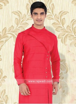 Red Color Kurta For Wedding