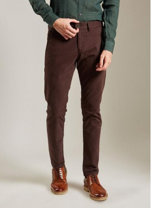 Daro Regular Fit CoffeeTrouser By Rare Rabbit