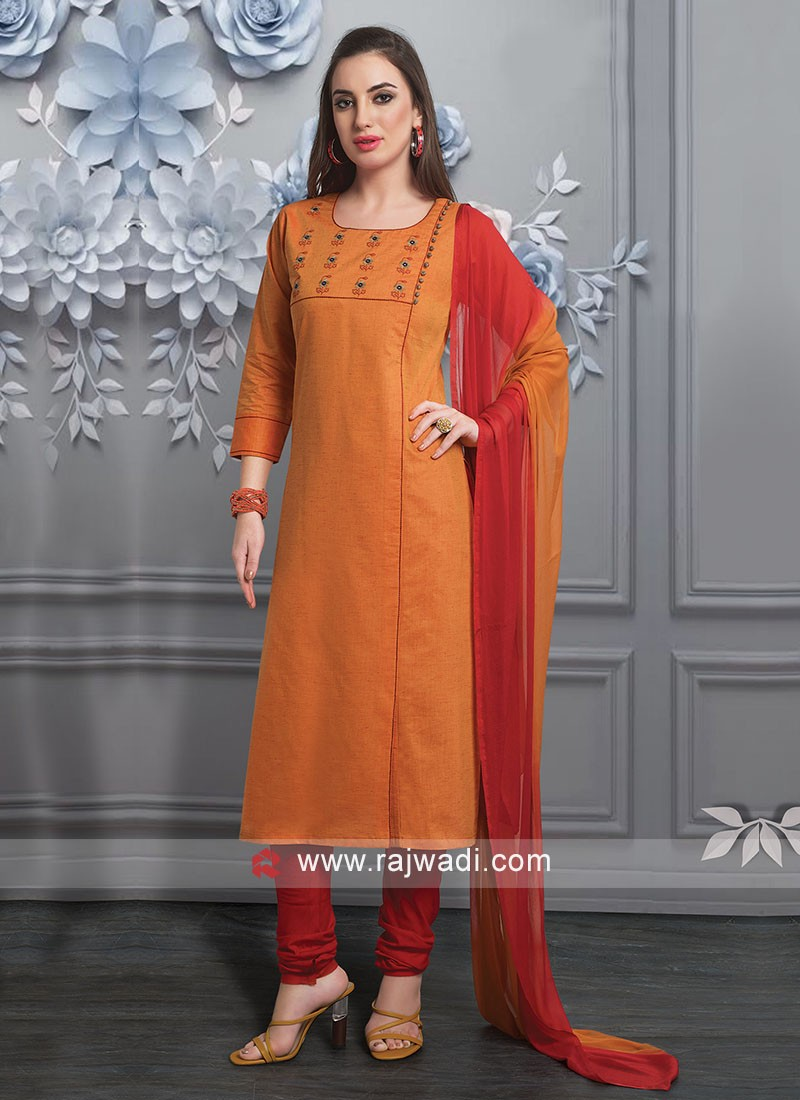 Dazzling Casual Wear Salwar Suit