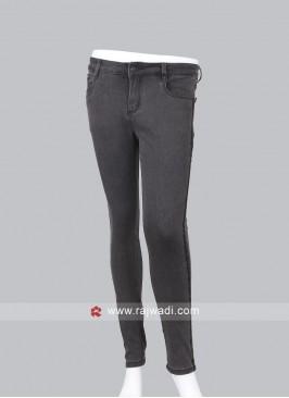 Deal Carbon Slim Fit Mid-Rise Jeans