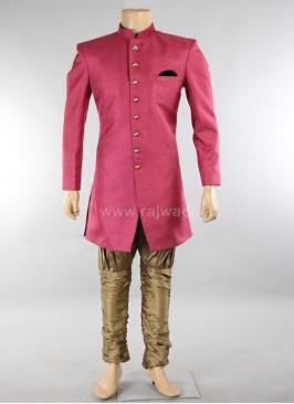 Deep Pink Nawabi Indo Western