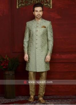 Designer Art Banarasi Silk Indo Western