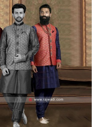 Designer Nehru Jacket For Wedding
