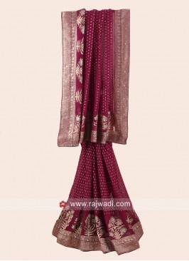 Designer Banarasi Chiffon Saree