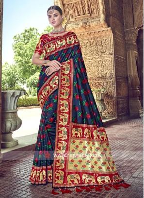 Designer Banarasi Silk Heavy Saree