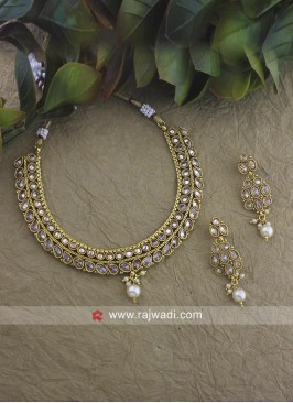 Designer Beads Choker Nacklace Set