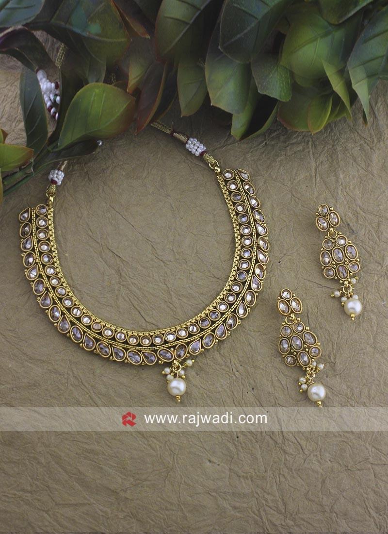 Designer Beads Choker Nacklace Set