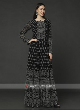 Designer Black Jumpsuit