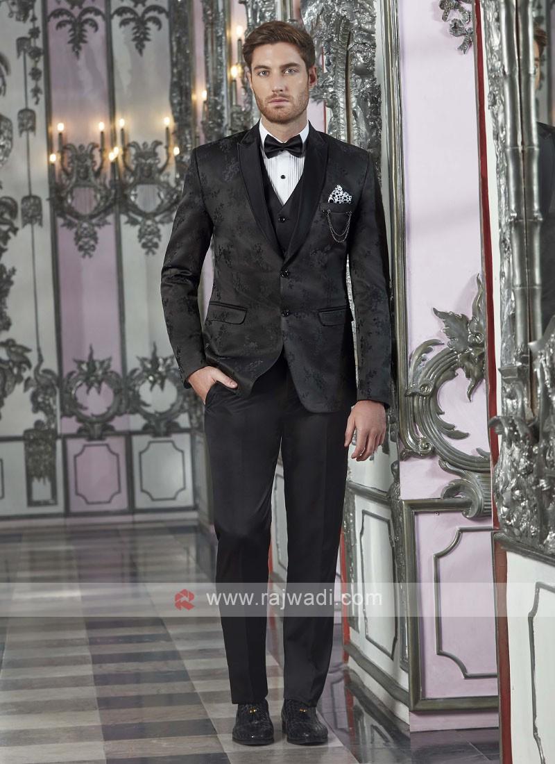 Designer Black Suit