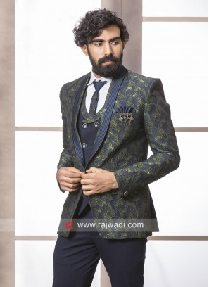 Designer Blue Wedding Suit