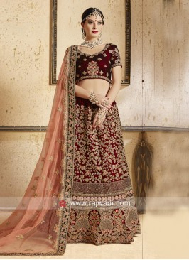 Designer Bridal Wedding Lehenga Set