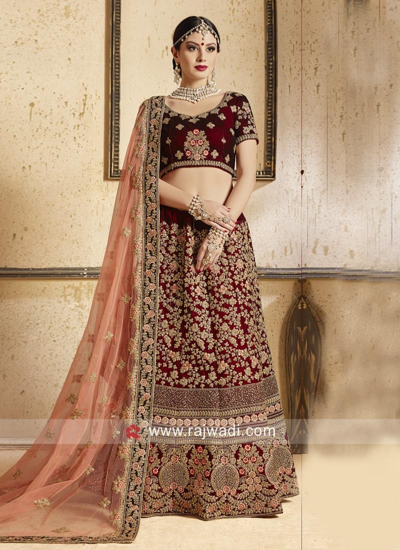 Designer Bridal Wedding Lehenga Set