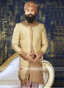 Designer Brocade Silk Indo Western