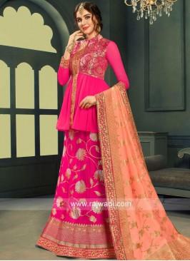 Designer Brocade Wedding Lehenga Choli