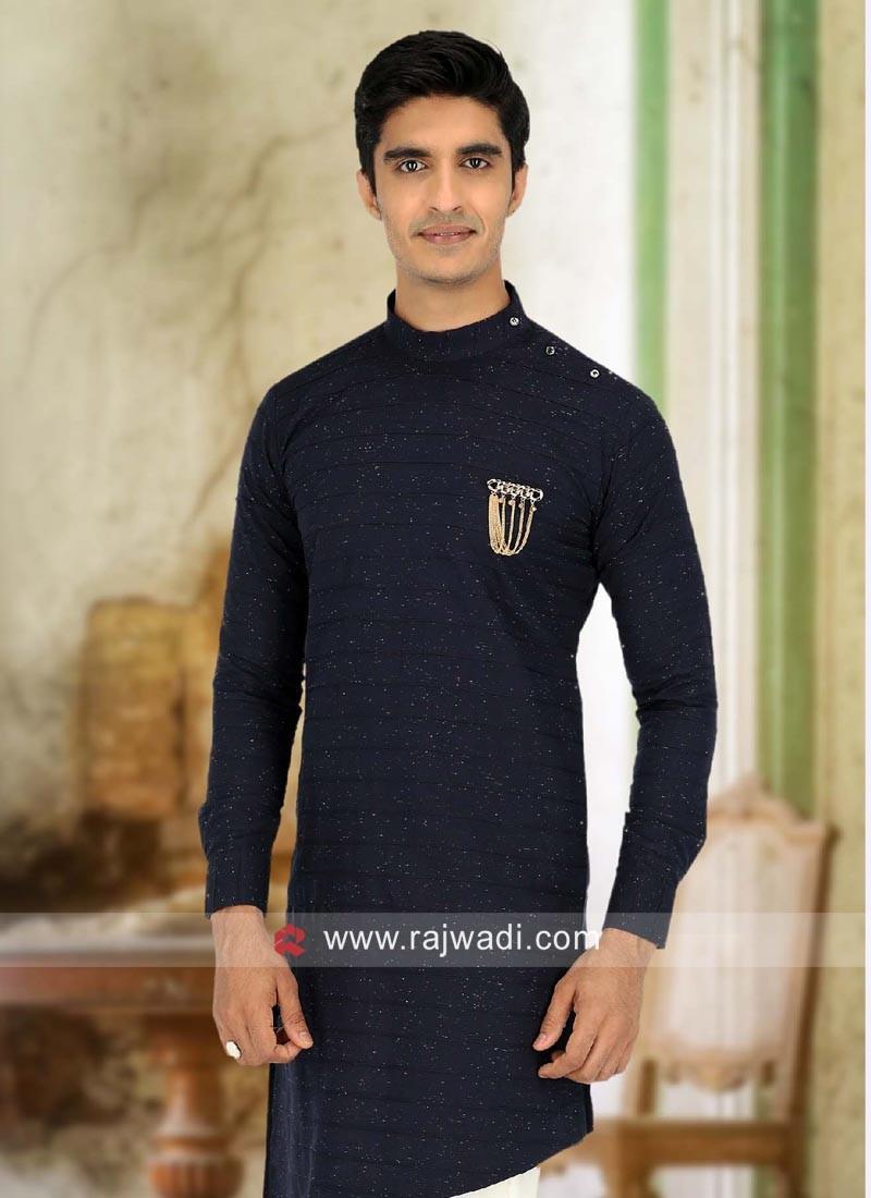 Designer Cotton Fabric Kurta