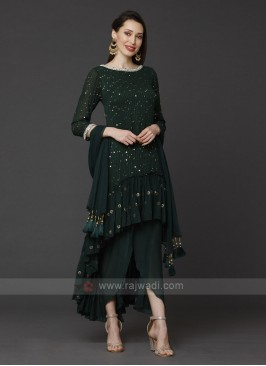 Designer Dhoti Pant Suit