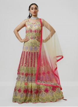 Designer Embroidered Gown