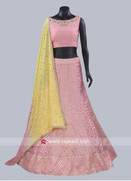Designer Embroidered Lehenga Set