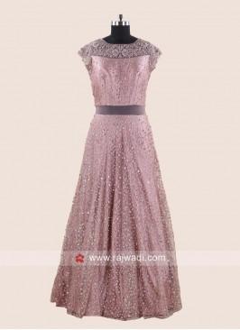 Designer Embroidered Wedding Gown