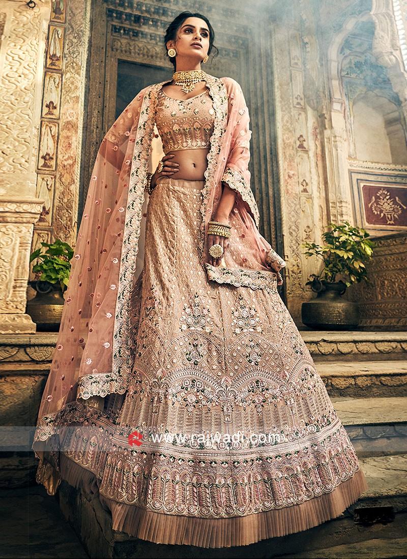 Designer Georgette Fabric Lehenga Choli