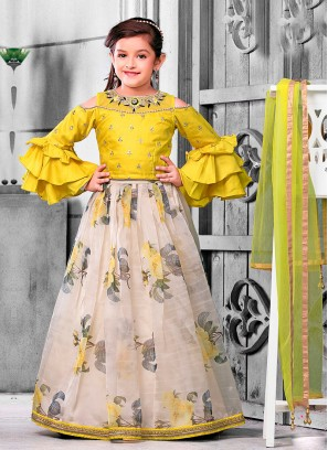 Designer Girls Choli Suit