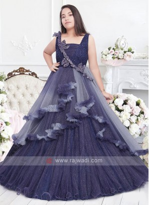 Designer Gown For Girls