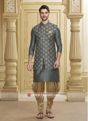 Designer Grey Indo Western