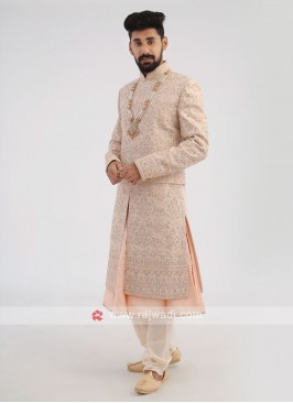 Designer Groom Wedding Sherwani