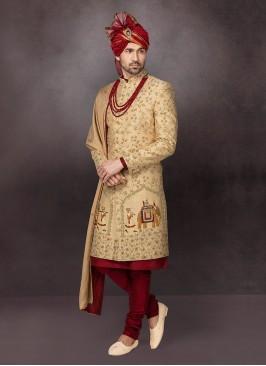 Designer Grooms Wedding Sherwani