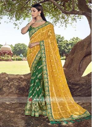 Designer Half N Half Saree