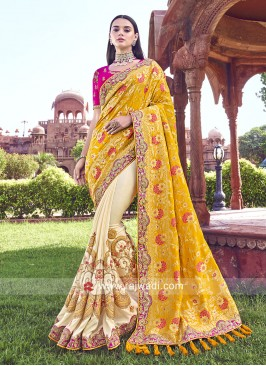 Designer Half Saree For Wedding