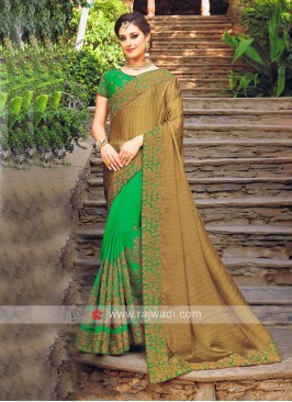 Designer Half Saree with Blouse