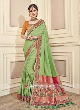 Designer Heavy Sari with Blouse