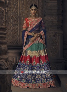 Designer Heavy Embroidered Lehenga Choli