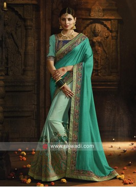 Designer Heavy Wedding Saree