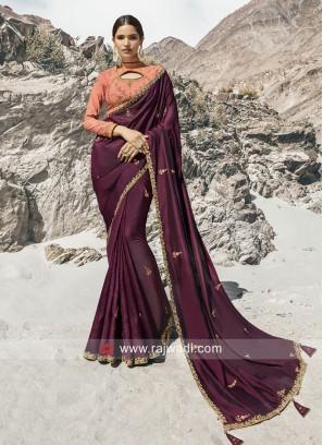 Designer Heavy Wedding Saree