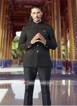 Designer Imported Fabric Jodhpuri Suit