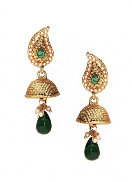 Designer Jhumki Earrings