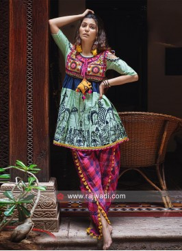 Designer Kedia Set For Navratri