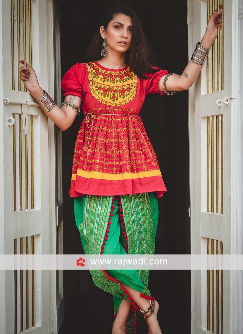 Designer Kedia Set For Women