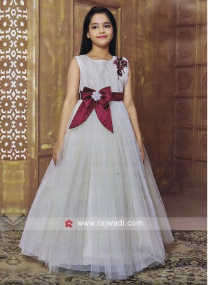 Designer Kids Floor Length Gown