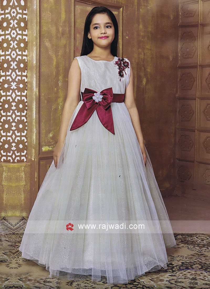 Designer Kids Floor Length Gown