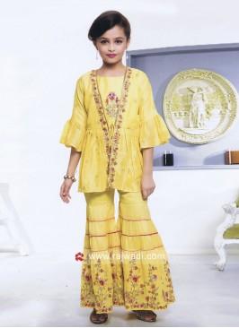 Designer Kids Palazzo Salwar Kameez