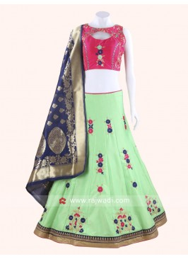 Designer Kutchi Work Chaniya Choli