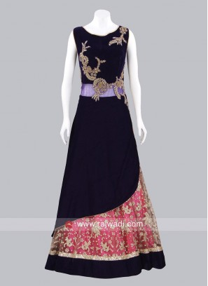Designer Layered Gown