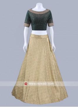 Designer Lehenga Choli without Dupatta