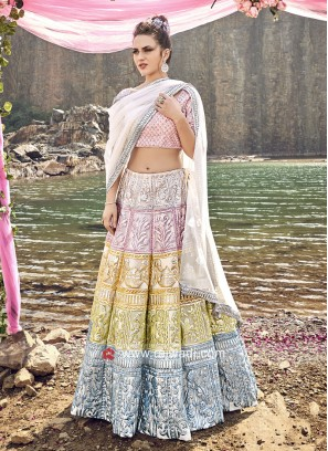 Designer Lehenga Set with Dupata