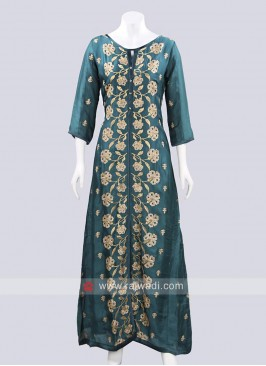 Designer Long Embroidered Kurti