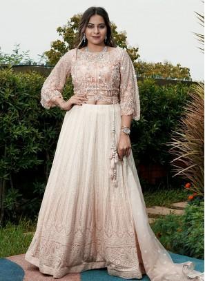 Designer Lucknowi Work Choli Suit