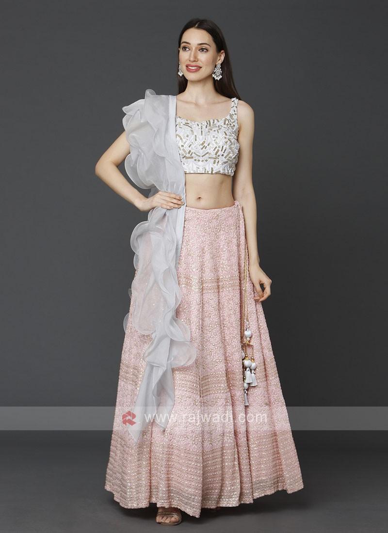 Designer Lucknowi Choli Suit